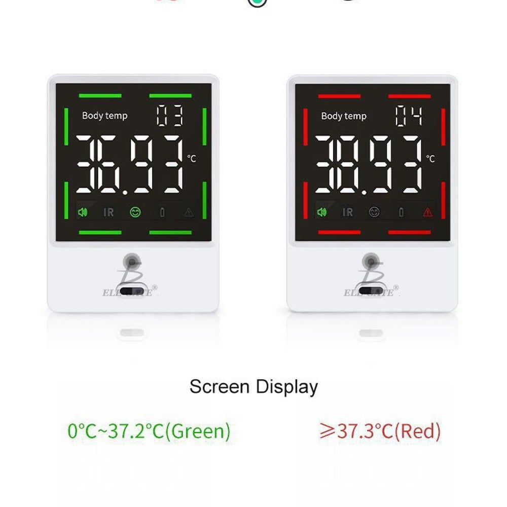 Termómetro infrarrojo automedicion intelligent pared