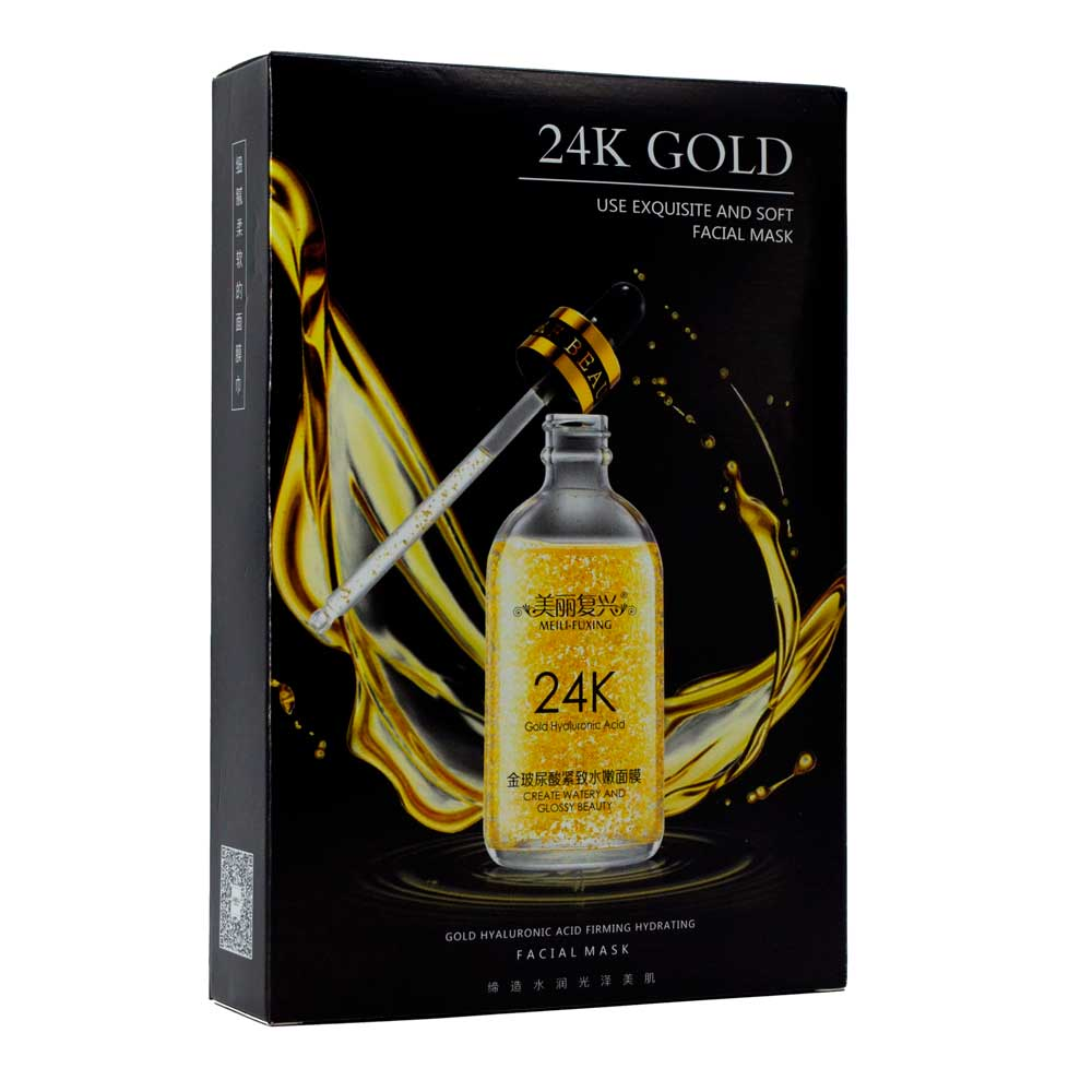 Mascarilla reafirmante e hidratante de oro y acido hialurónico fx86746