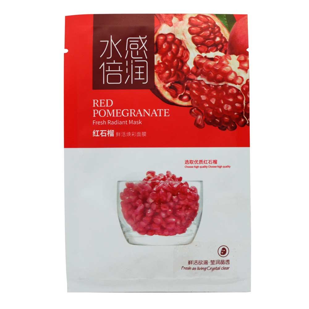 Mascarilla de granada / red pomegranate fresh radiant mask / fyl53832a