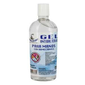 Gel antibacterial de 250 ml gel.antibacterial