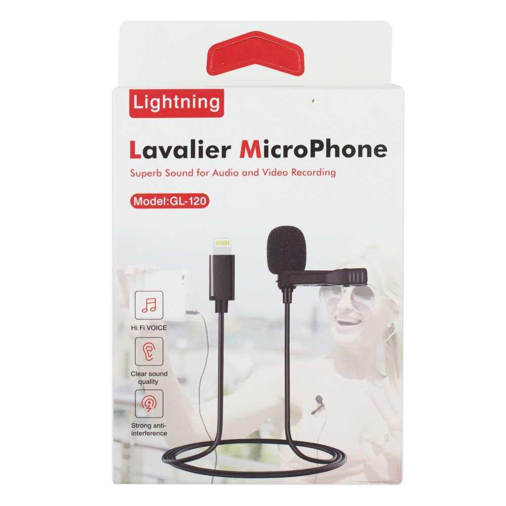 Microfono de entrada tipo lighting gl-120