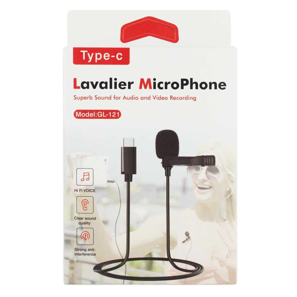 Microfono para celular con entrada tipo c gl-121