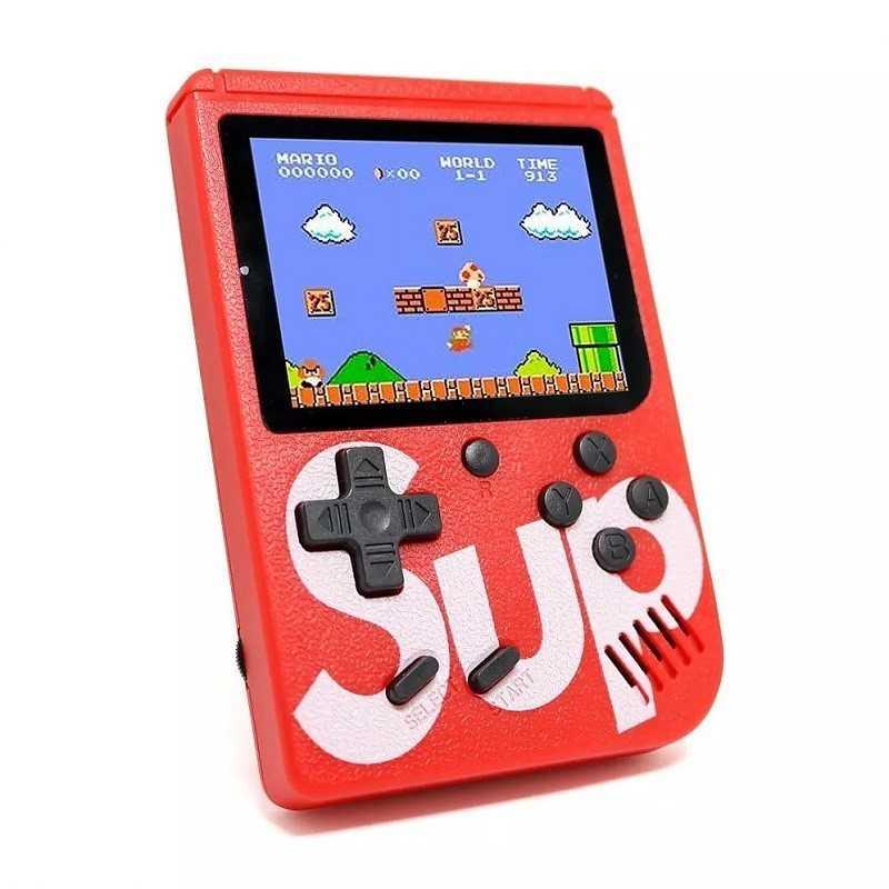 Sup box consola game boy videojuegos portátil 400 juego con control gmboxp
