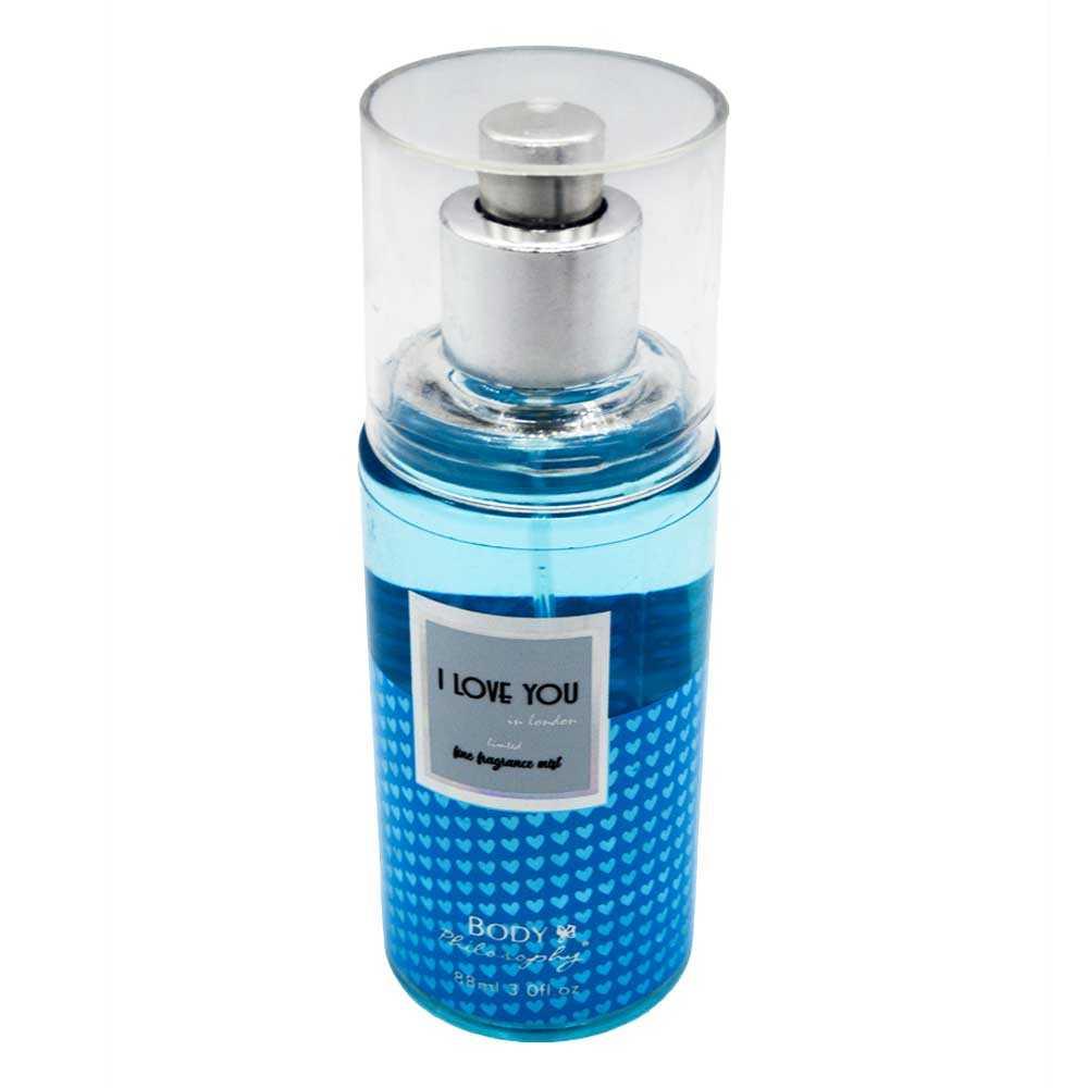 Perfume de distintas fragancias con estampado de corazon 1pz h-132y