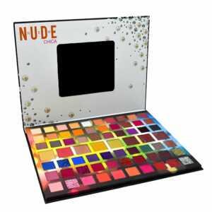 Paleta de sombras / new nude / tapa negra / h-191