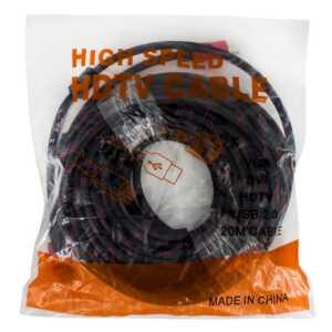 Cable hdtv 20mtrs usb 2.0 vga dvi hd-20m