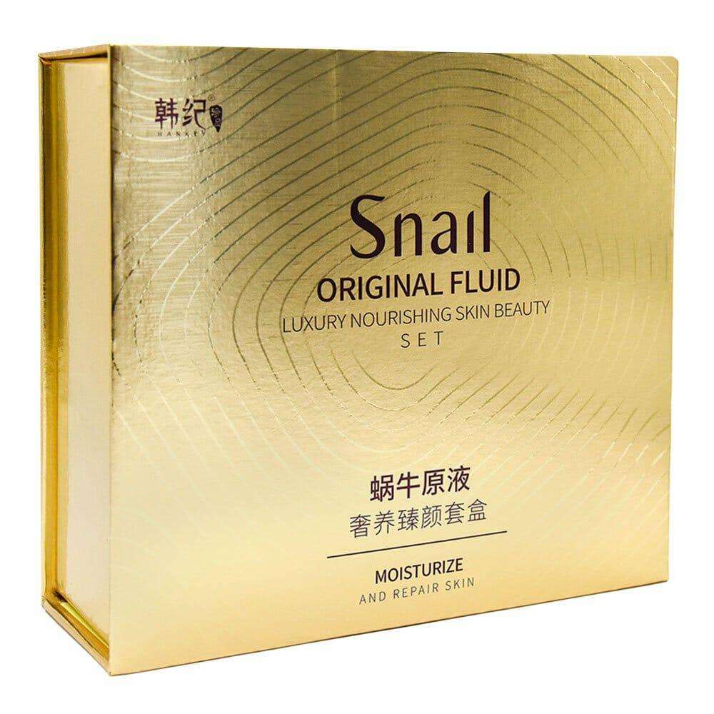 Set de 5 piezas snail estracto de caracol hj89327