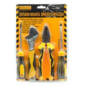 Juego de herramientas pinza, desarmador y llave hl ju5529