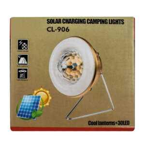 Lampara portátil recargable / chaodeli / solar charging camping lights / lam5968