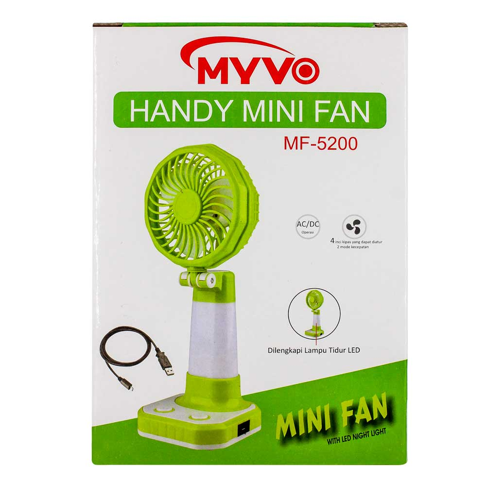 Lampara / ventilador de mesa / handy mini fan / lam5971