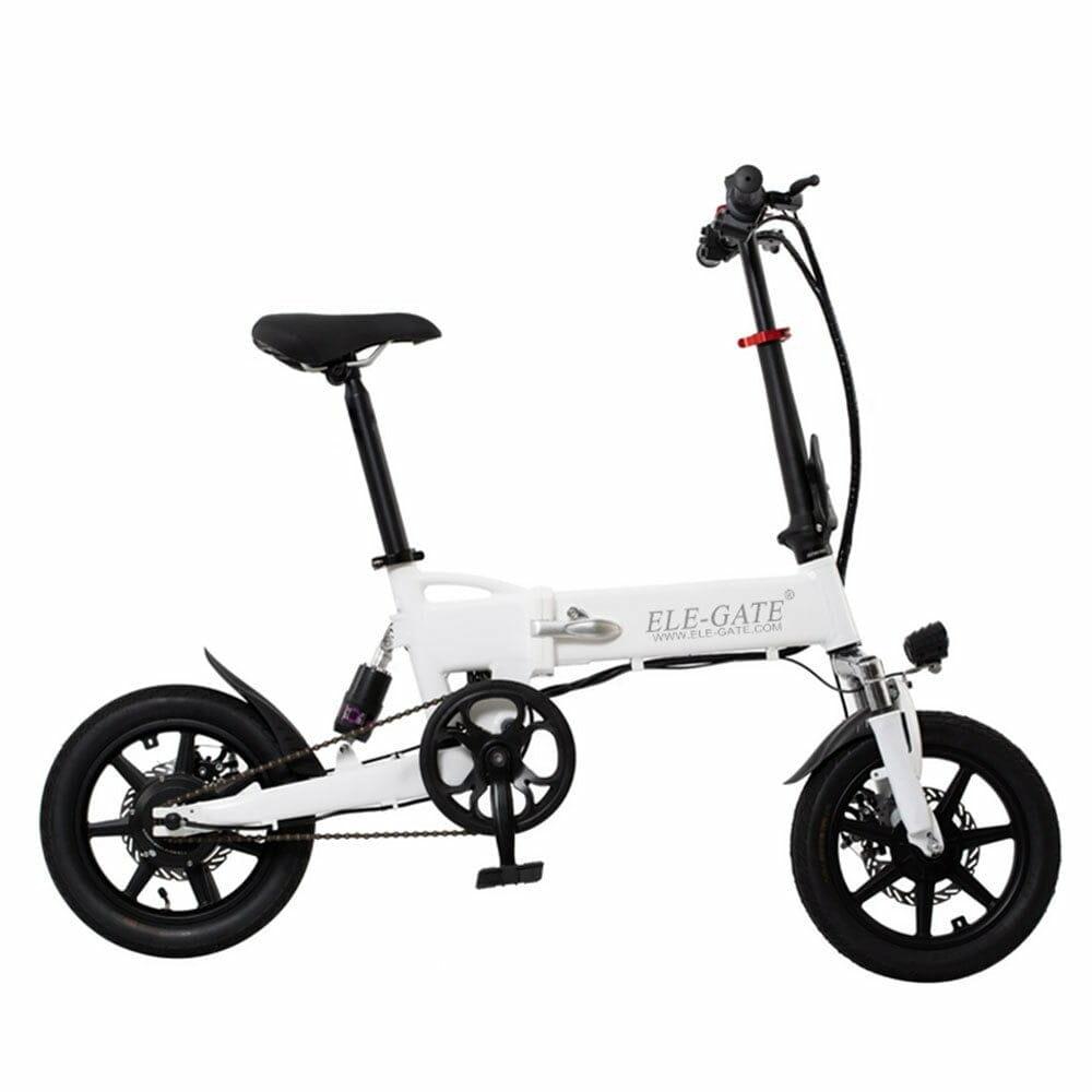 Bicicleta ele gate electrica pegable ajustable 14 pulgadas hog.30.14