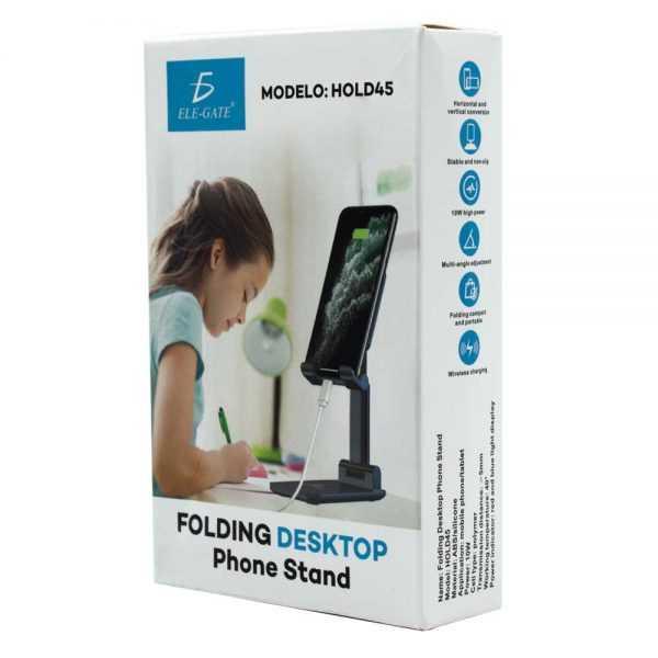 Soporte para celular de mesa