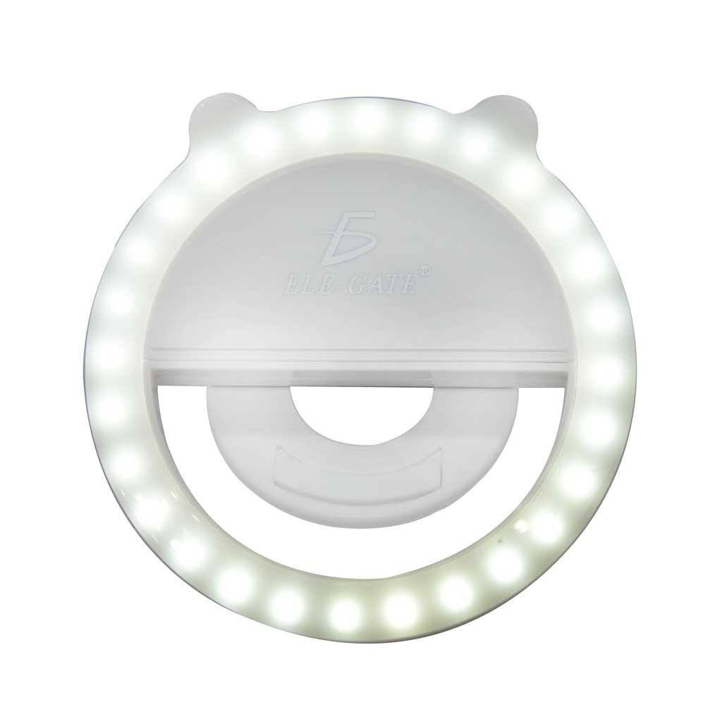 Aro de luz led para celular