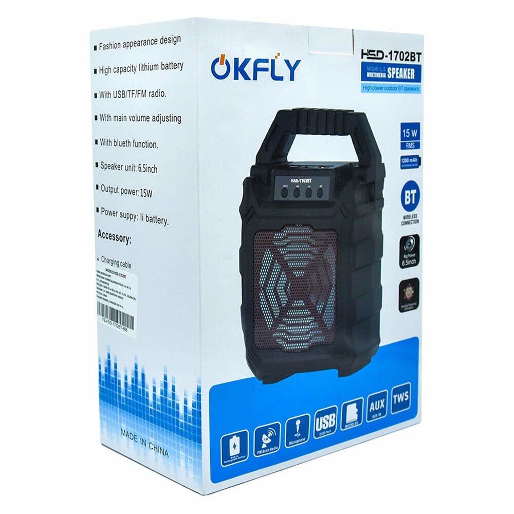 Bocina bluetooth speaker usb/tf/fm hsd-1702bt