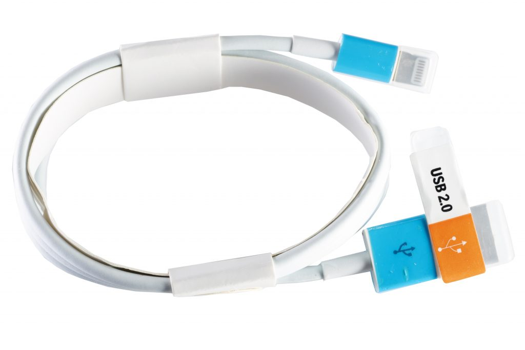 Cable para iphone xh con luz led xh-i8-1692
