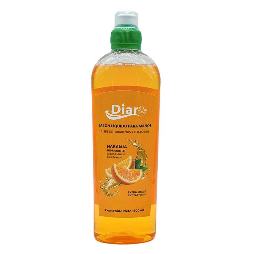 Jabon liquido para manos de naranja jabon.liquido