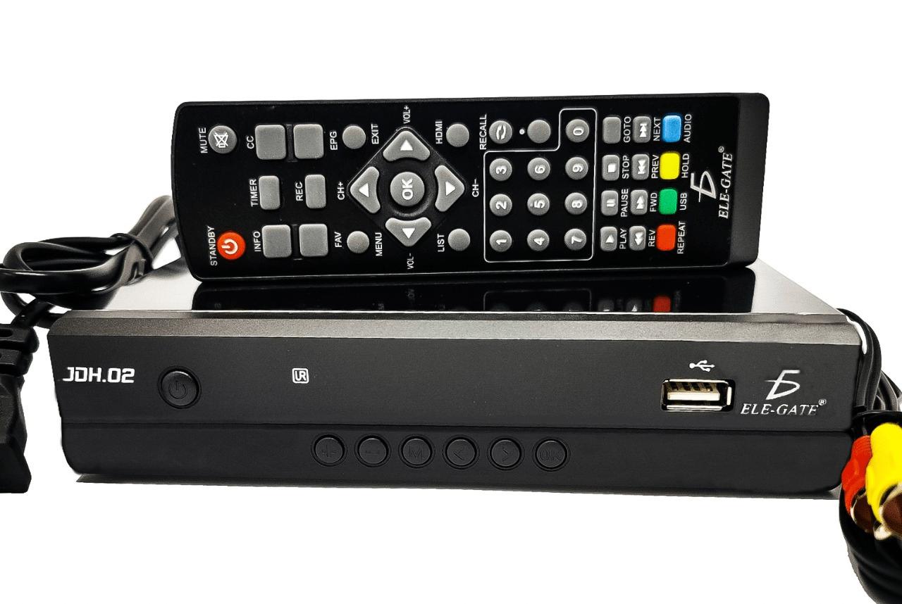Decodificador de señal para tv digital jdh02