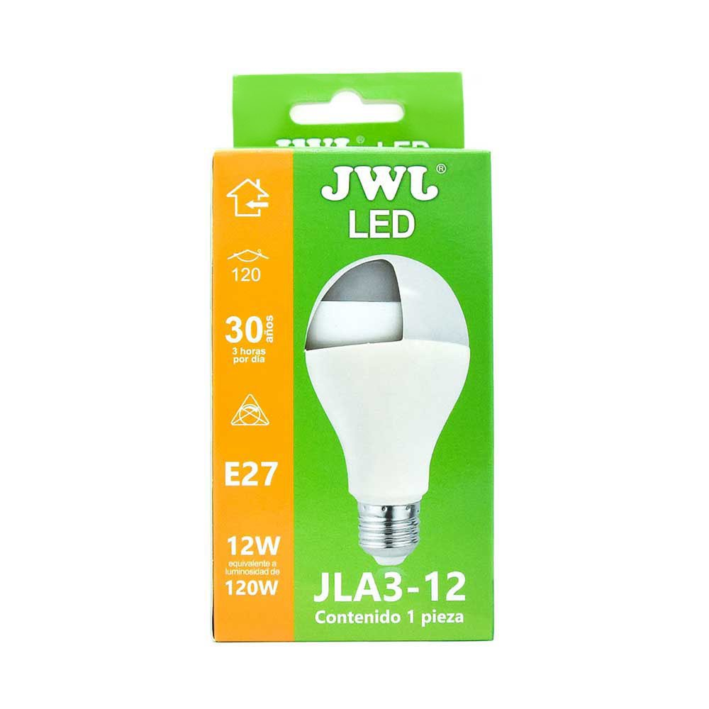 Foco led 12w luz blanca jla3-12b jwj