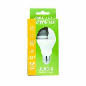 Foco led 6w luz blanca jla3-6b jwj