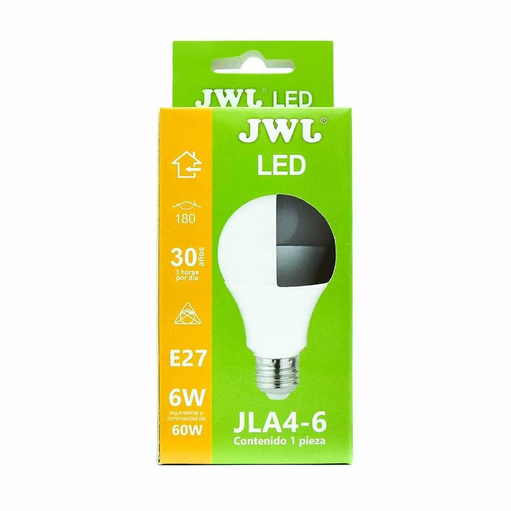 Foco led omnidireccional 6w luz blanca jla4-6b jwj