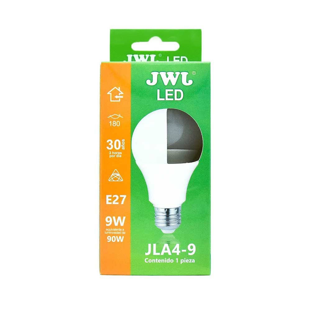 Foco led omnidireccional 9w luz blanca jla4-9b jwj