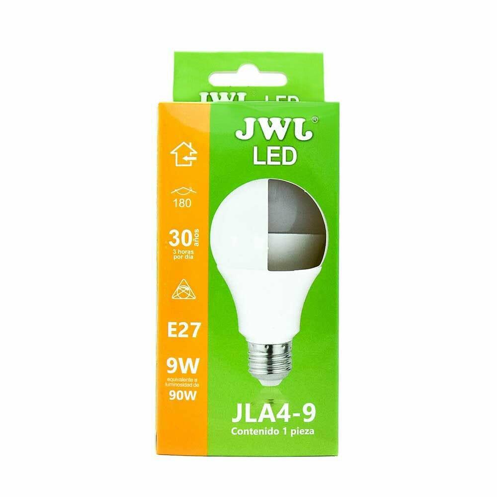 Foco led omnidireccional 9w luz cálida jla4-9c jwj