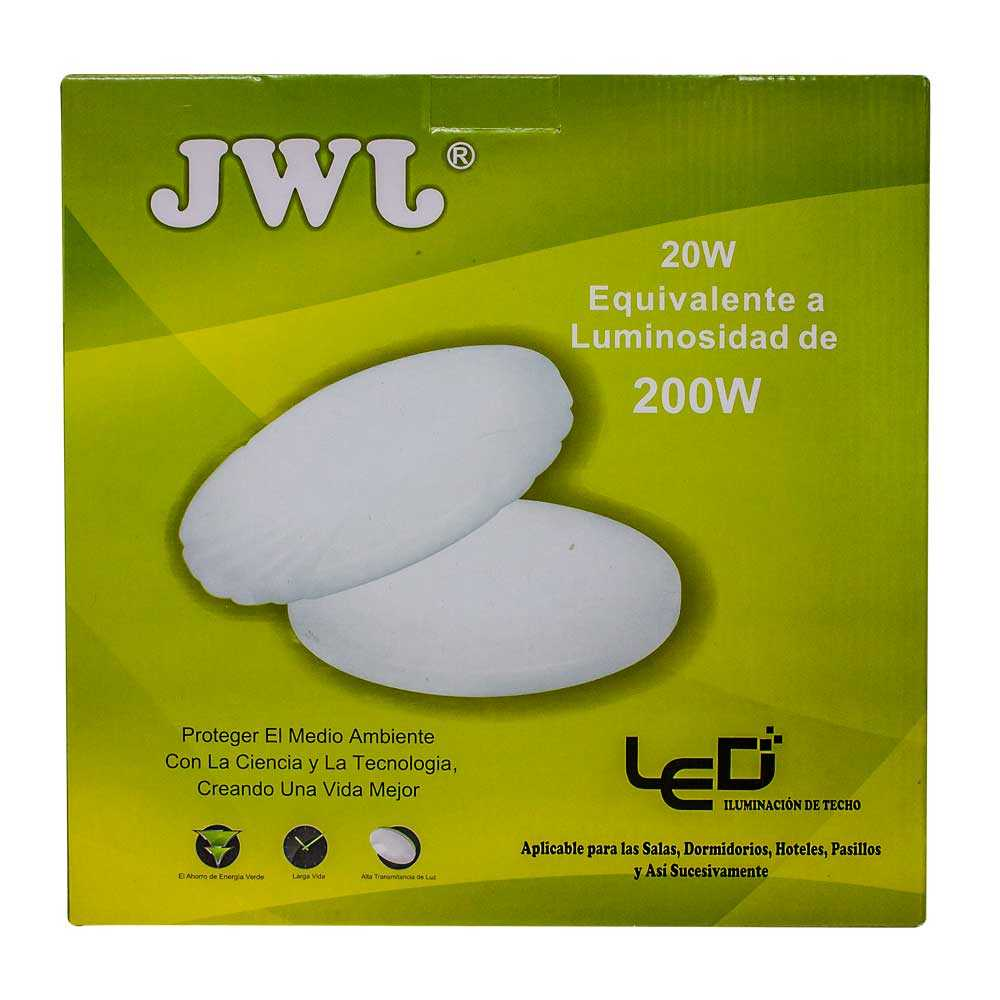 Lámpara led decorativa 20w jlbr-2022 marca jwj