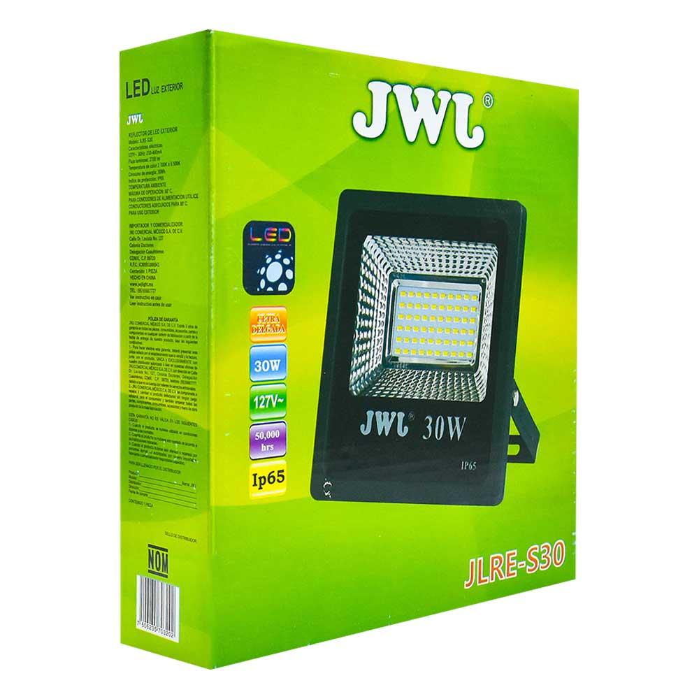 Reflector led tipo smd ip65 30w luz blanca jlre-s30b jwj