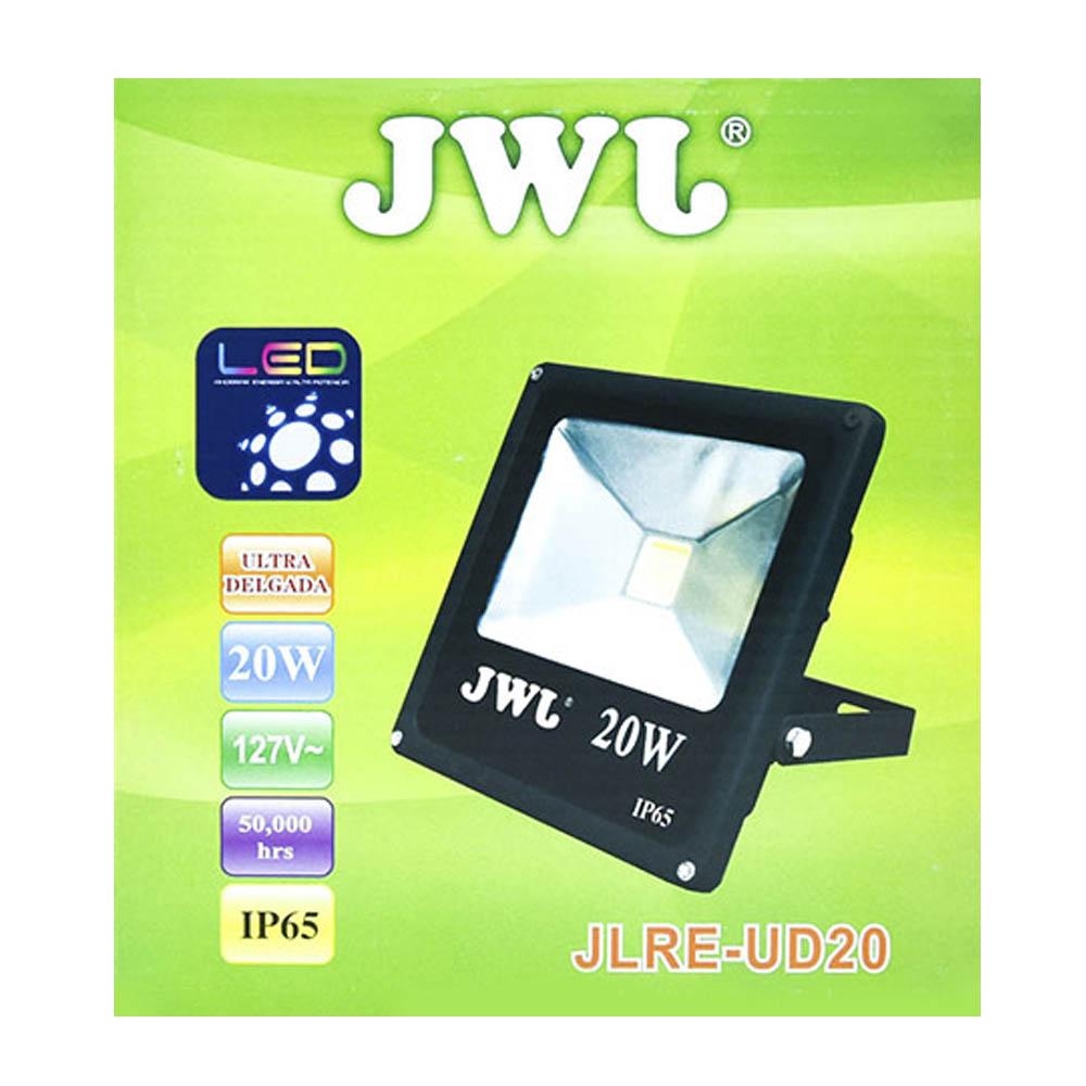 Reflector led tipo cob ip65 20w luz blanca jlre-ud20b jwj