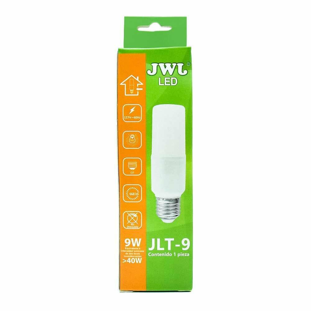 Foco led omnidireccional tipo t 9w luz cálida jlt-9c jwj