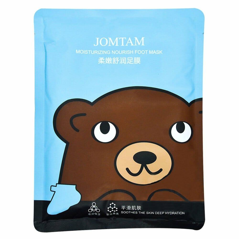 Mascarilla de pies / jomtam moisturizing nourish foot mask / jmt30837