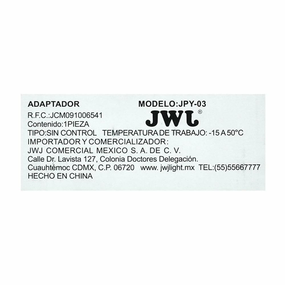 Eliminador con controlador para tira led 5050 ip20/ip65 rgb 2.5a jpy-03 jwj