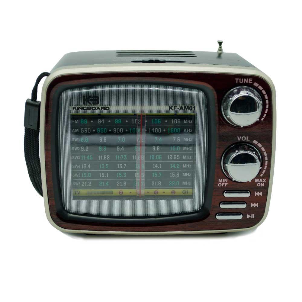 Radio am y fm estilo vintage kf-am01 xh