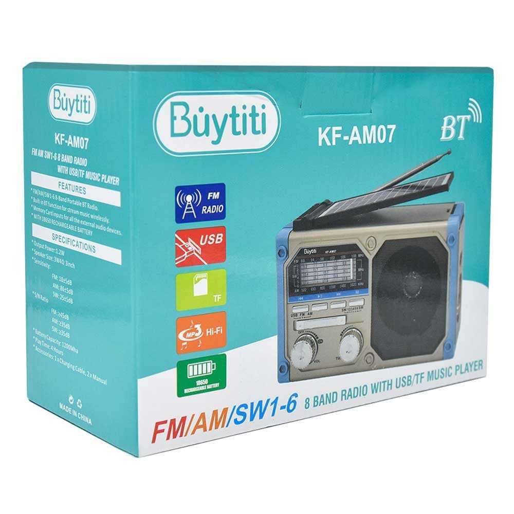 Radio con usb/fm/am kf-am07