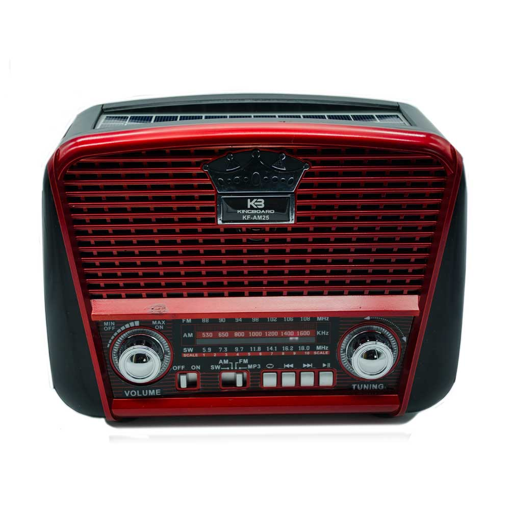 Radio am color rojo kf-am25 xh