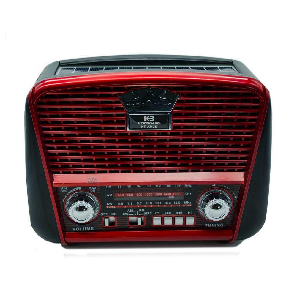 Radio am color rojo kf-am25 xh