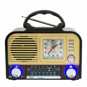 Radio buytiti 3 bandas am fm sw con usb tf kf-am27