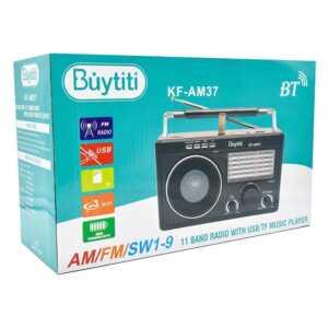 Radio con usb/am/fm kf-am37