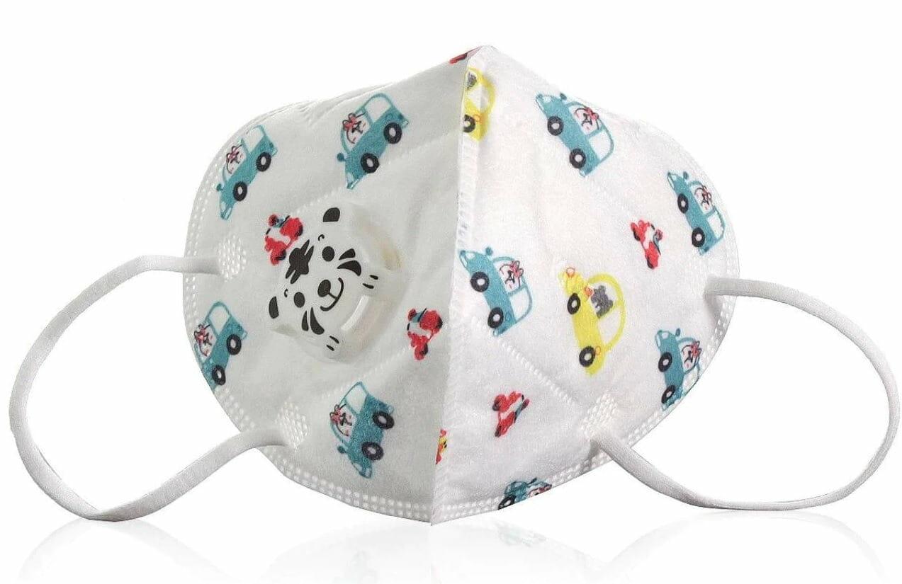 Cubrebocas de niño paquete con 10 piezas