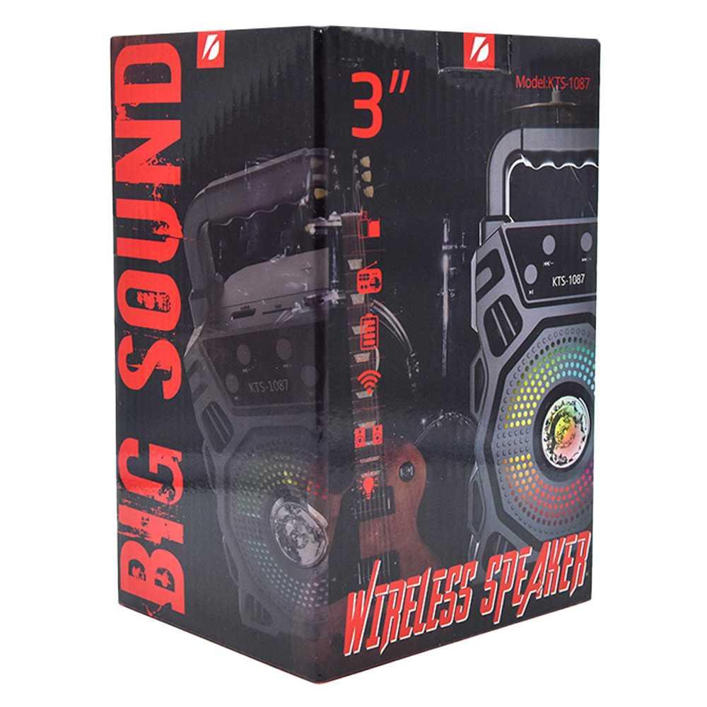 "Bocina wireless speaker 3"" kts-1087"