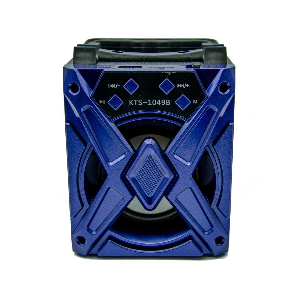 """Bocina de 3"""" radio fm y bluetooth kts-1049 xh"""