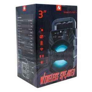 """Bocina de 3"""" wireless speaker ktx-1057"""