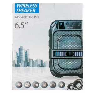 "Bocina wireless speaker 6.5"" ktx-1191"