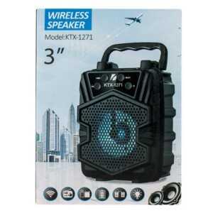 """Bocina wireless speaker de 3"""" ktx-1271"""