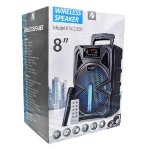 "Bocina wireless speaker 8"" ktx-1300"