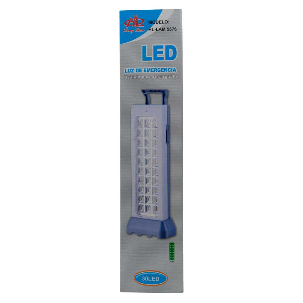 Luz de emergencia led / 30 led / lam5676