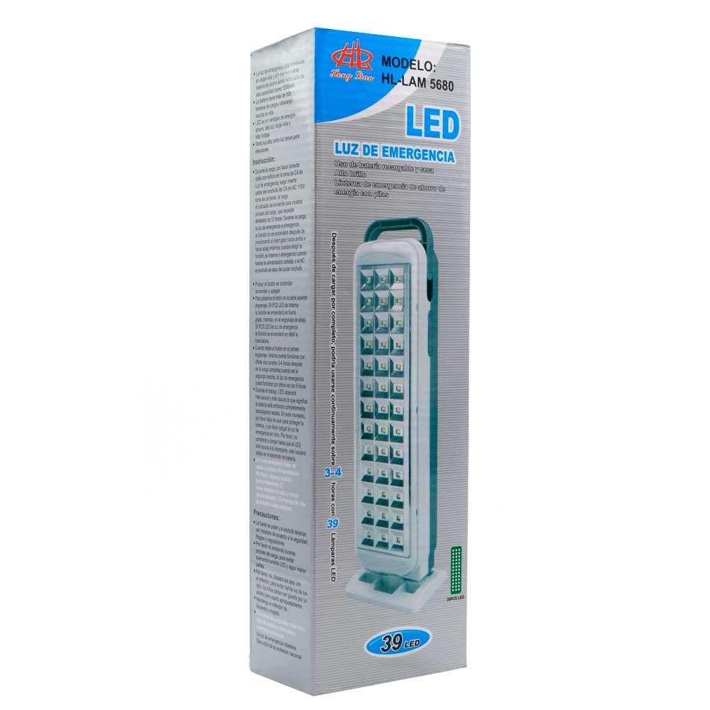 Luz de emergencia led / 39 led / lam5680