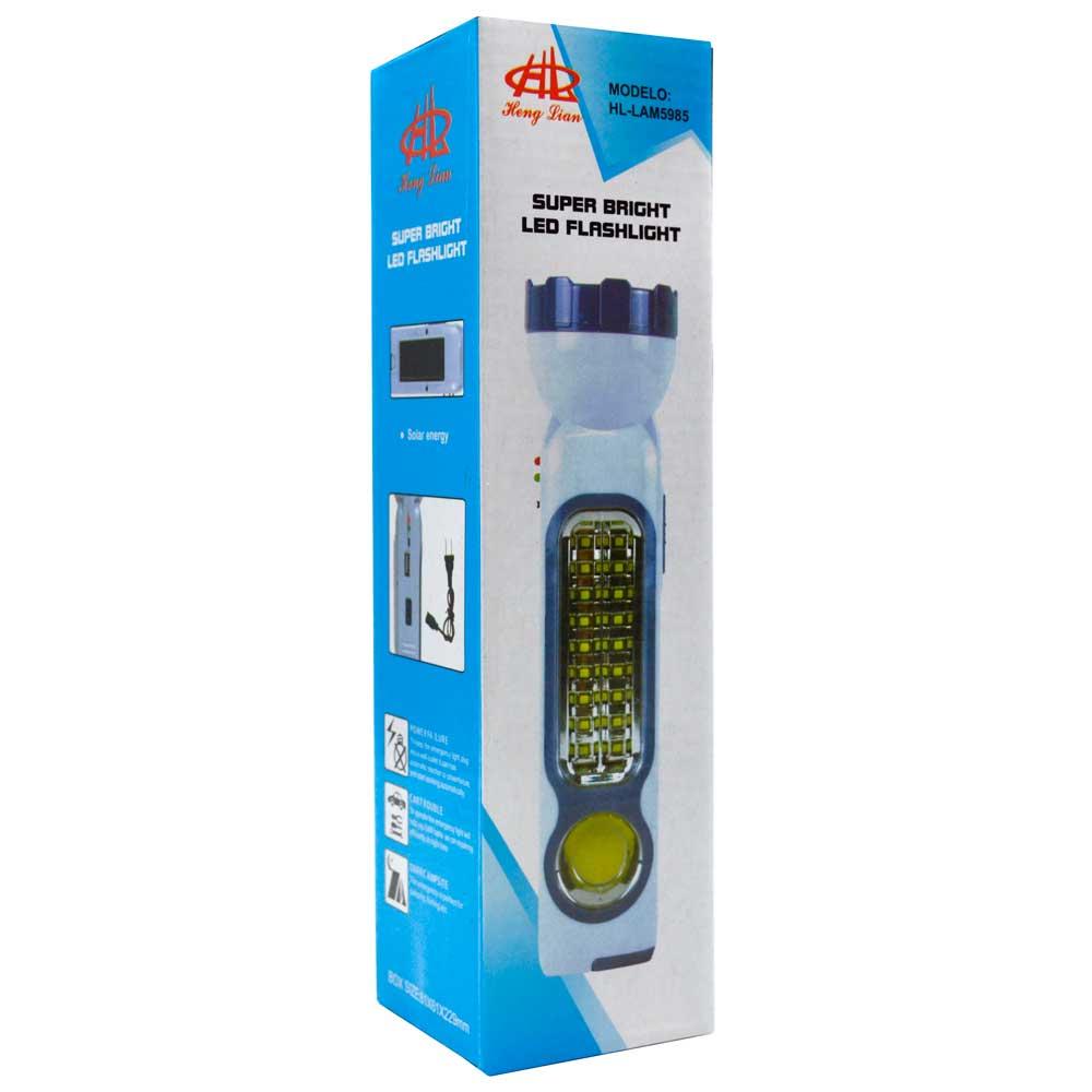 Lampara portatil recargable / super bright led flashlight / lam5985