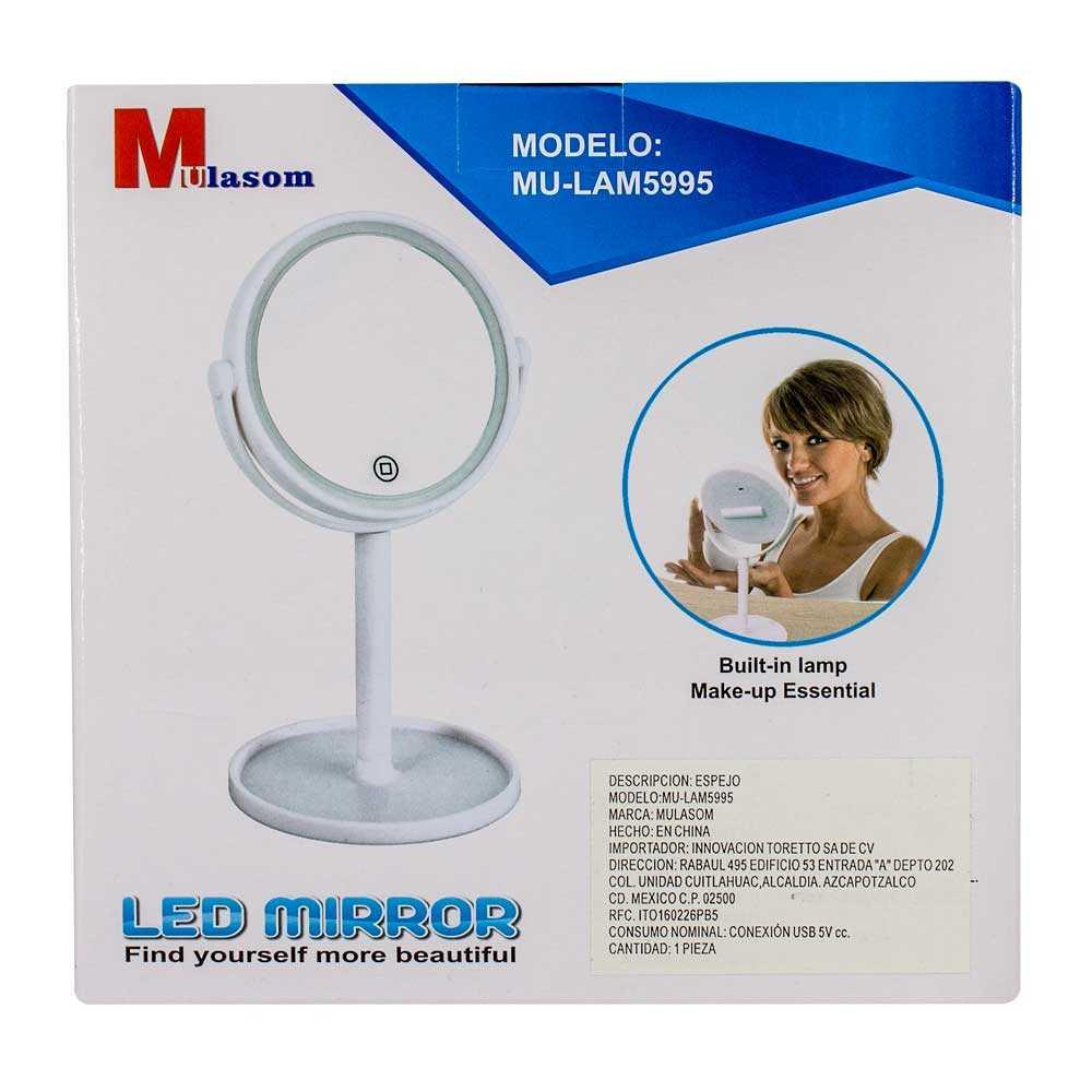 Espejo con luz led lam5995