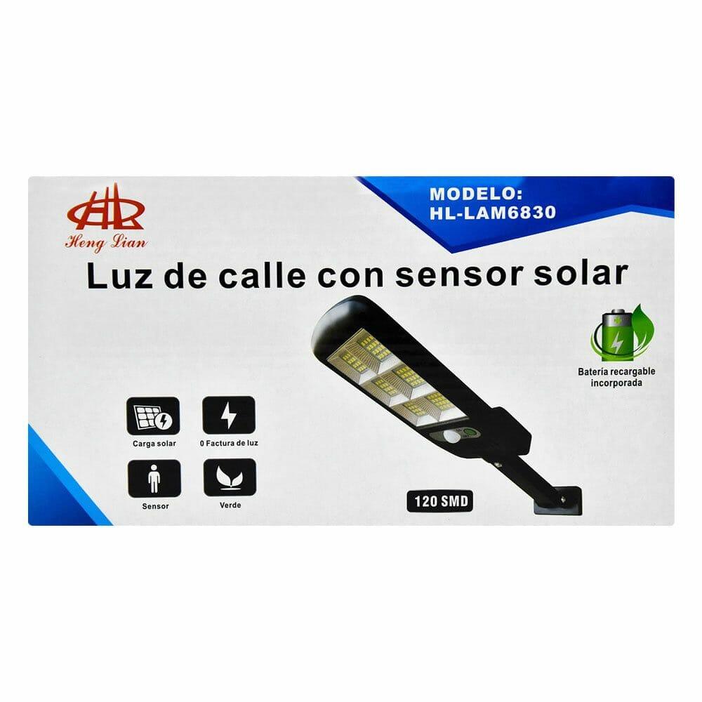 Luz de calle con sensor solar hl / lam6830